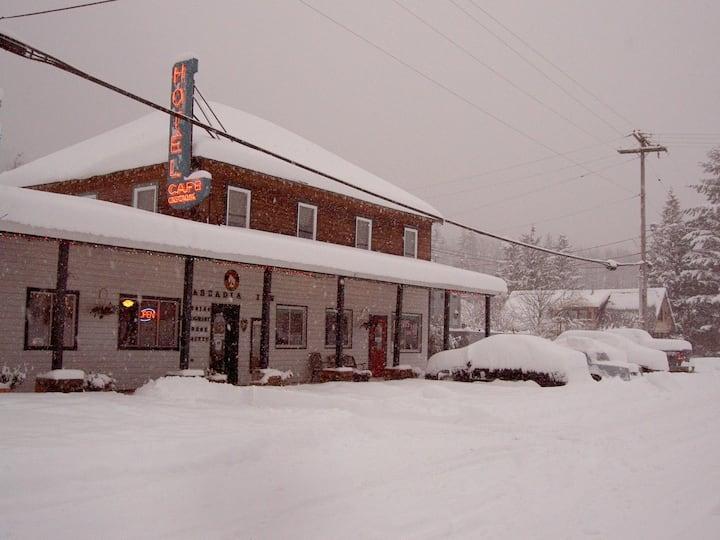 Cascadia Inn Skykomish, a historic Hotel & Cafe