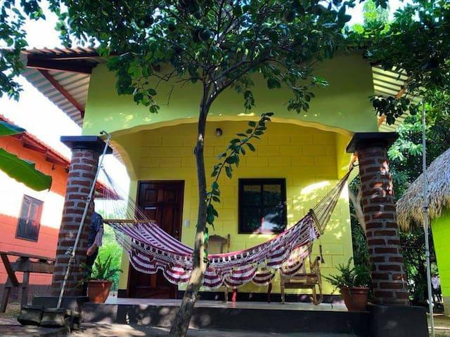 The boom hostel private AC cabana