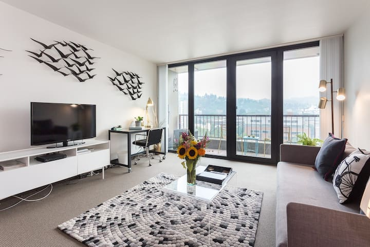 Downtown Condo with a Great View