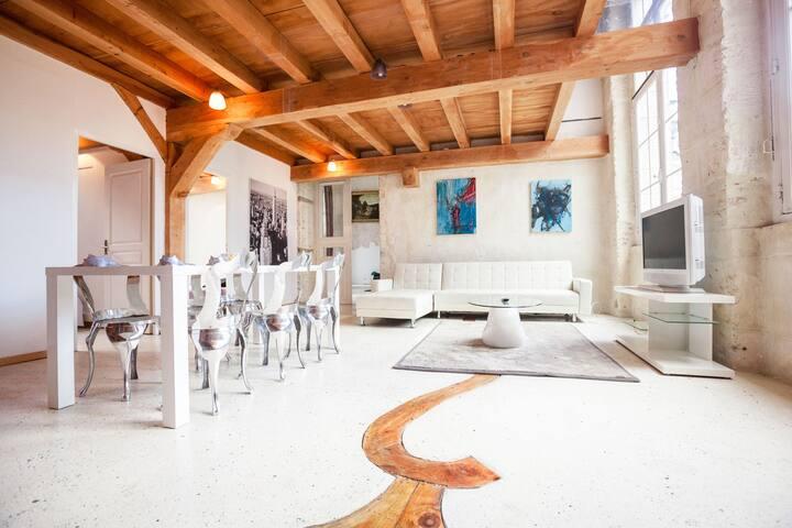 Vaste appart  7chbres 300 M² BASTIE - Limoges