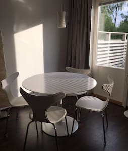 Spacious, light studio apartment with terrace. - Espoo - Wohnung