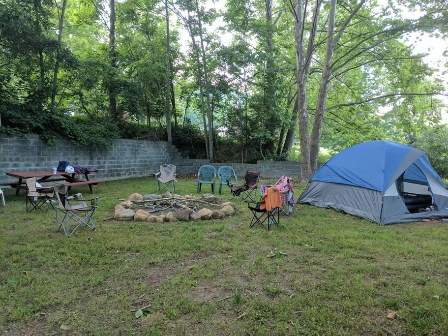 private family campsite