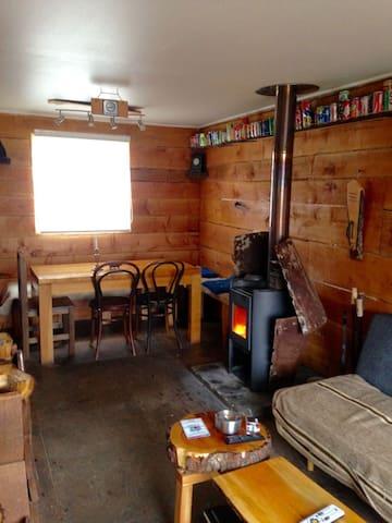 Cabaña rustica en Tierra del Fuego