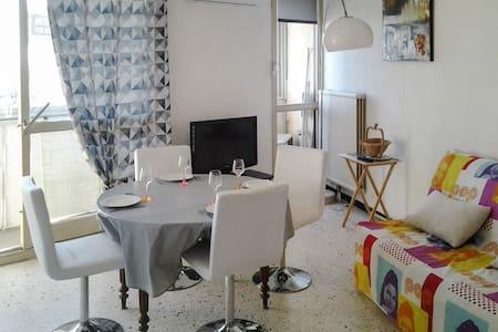 Bel appartement à 100 m de la mer - Balaruc-les-Bains