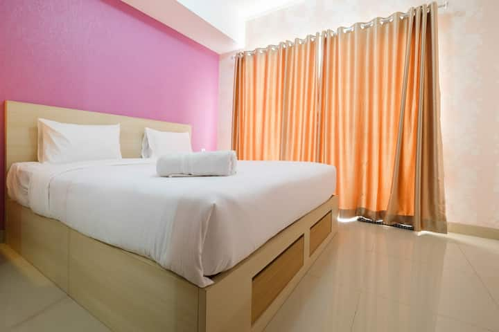 Clean 1BR The Oasis Cikarang Apartment