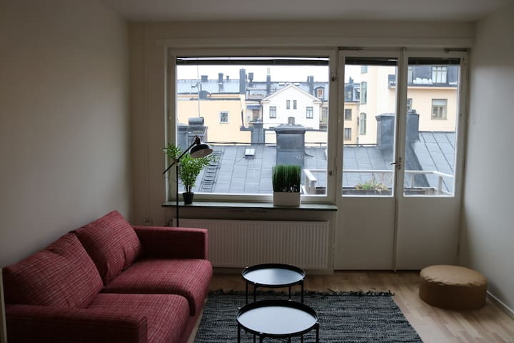 *Sunlit Apartment in the center of Stockholm*