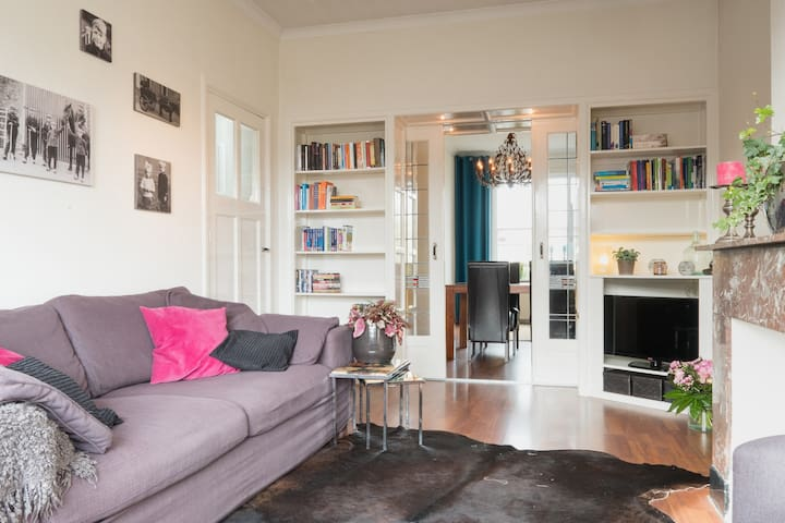 Characterestic apartment on a perfect location - Den Haag - Apartment