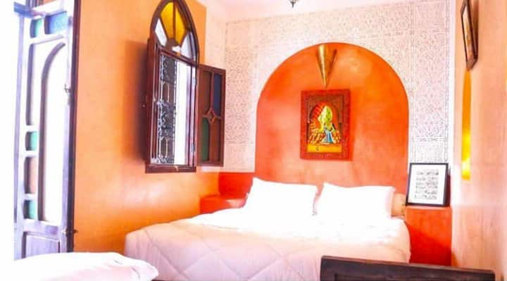 Deluxe double room at Riad Elli