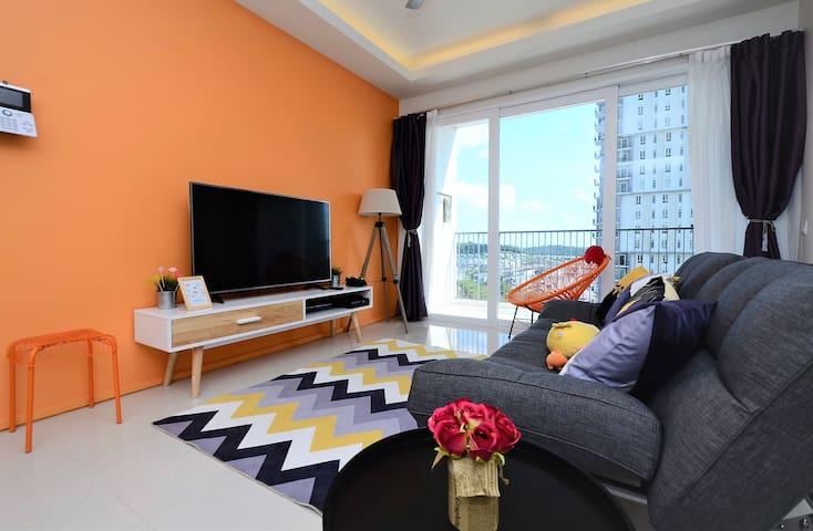 New! Cozy Condo at Cyberjaya 2Bedroom with Parking