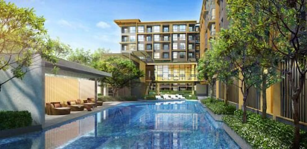 NEW! LUXURY 1BR NEAR DMK AIRPORT & CHATUCHAK - Bangkok - Kondominium