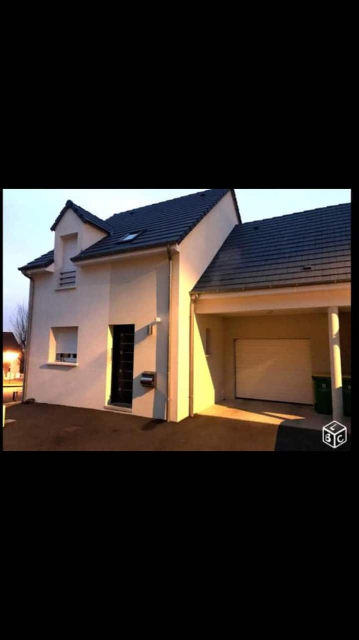 Chambre 1 maison neuve BBC 24h du Mans