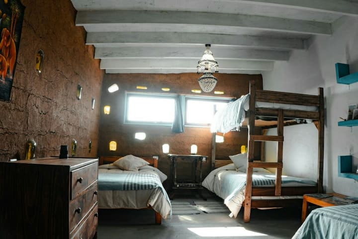 Dormitorio compartido en Hostel Arohanui Pichilemu