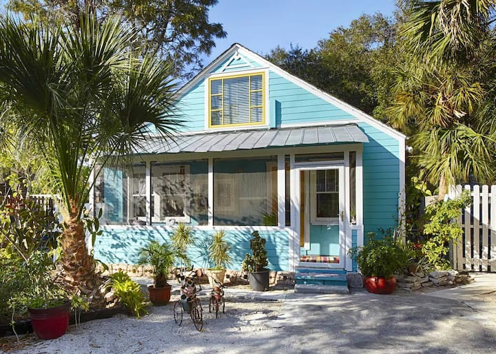 Turquoise Cottage Shabby Chic~Meets Key West Cool