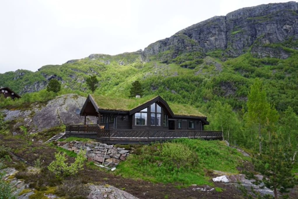 Cosy cabin with high standard close to trolltunga chalet for Asheville nc cabin vista sulle montagne