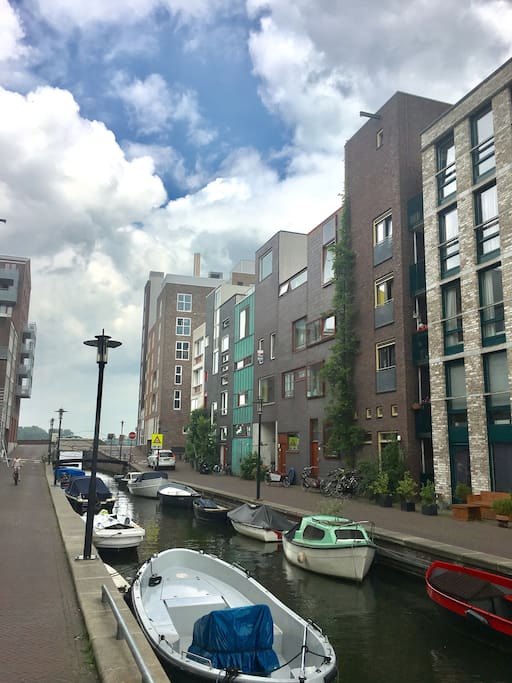 Modern residence chambres d 39 h tes louer amsterdam noord holland pays bas - Chambre a louer amsterdam ...