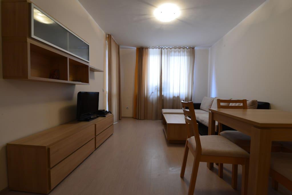 Гостиная-столовая / Living-dining room