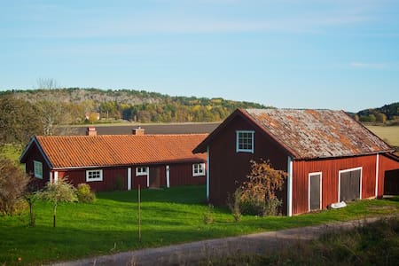 Charming cottage with fantastic nature - Nyköping S - Rumah
