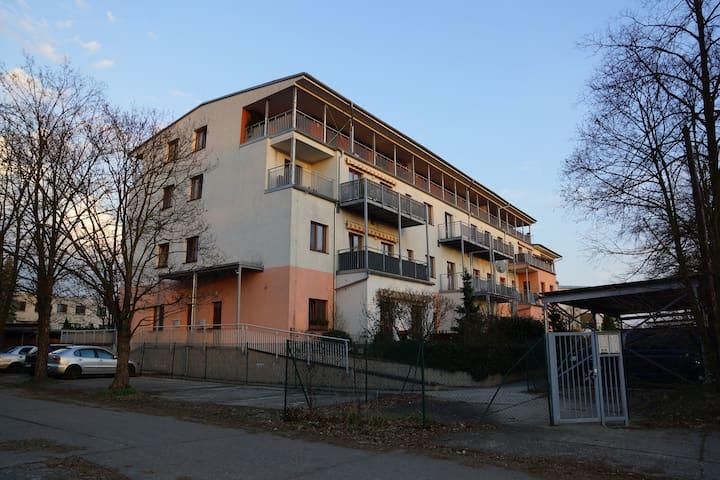 Nový, velký byt blízko centra až pro 8 osob - Hradec Králové - Appartement