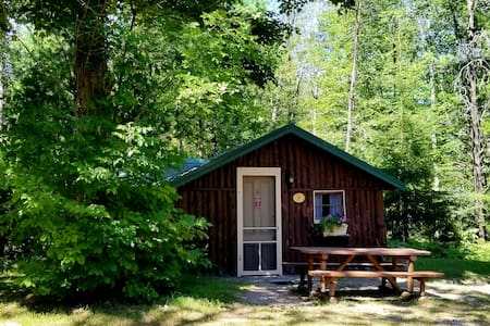 CABIN, Clean & Private, Dog Friendly sleeps 4