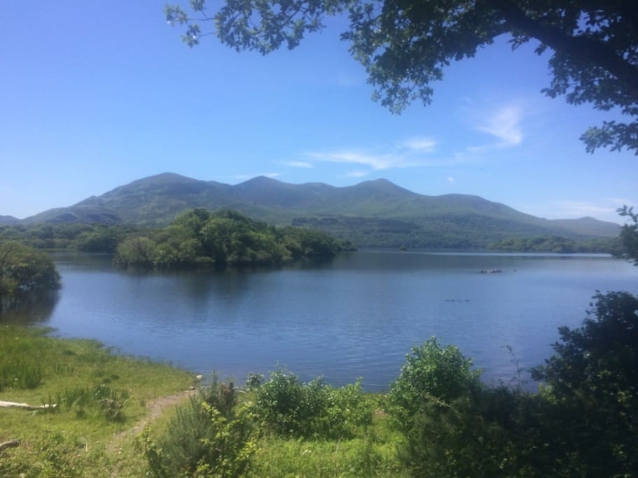 Lakes of Killarney view 5 min drive away