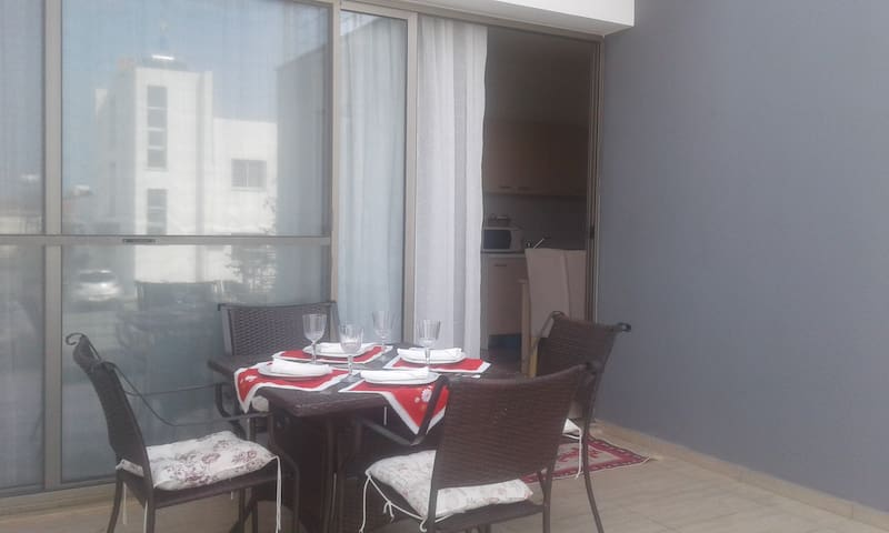 Cozy apartment 100 meters from the sea!