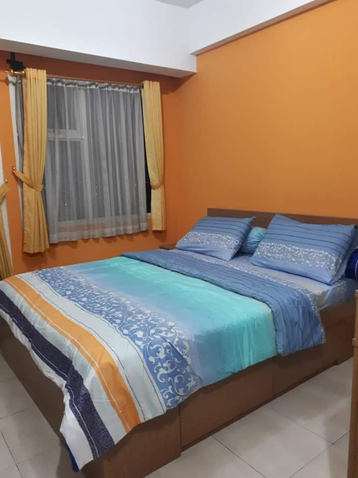 Clean Studio Room at Modern Residence 3 by Hendra