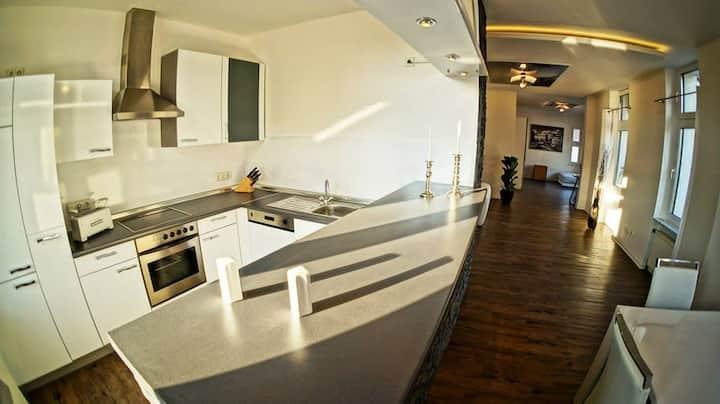 Designer-Appartment 112m² Citynah