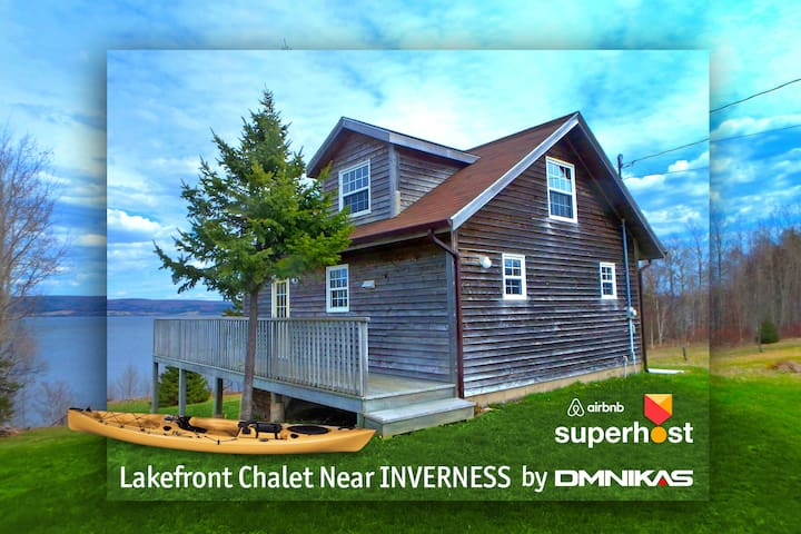 West LA Chalet by DMNikas Lakefront Near INVERNESS