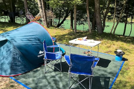 🏕 ECO River Camp|Bring your own Tent or Campervan