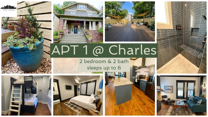 Apt1@Charles - Stunning, Accessible, Convenient to UAB, Pet-friendly, Amazing Grounds