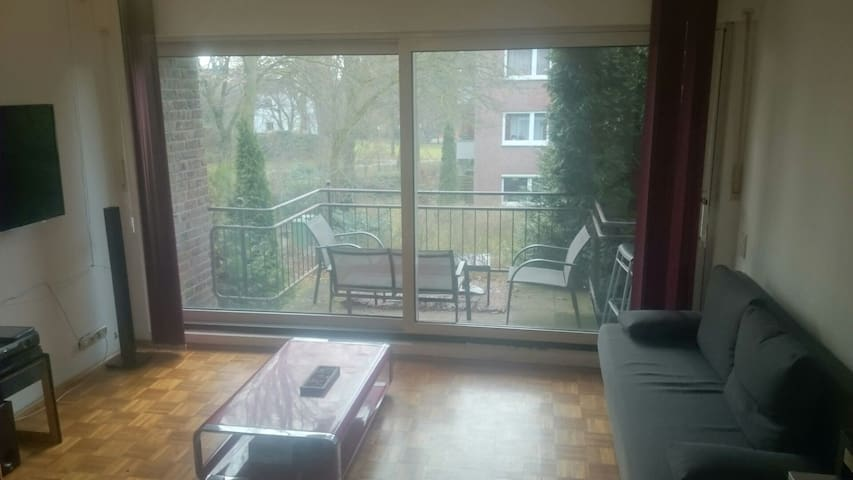 Beautiful bright 32sqm flat in Aachen - Aachen - Apartemen