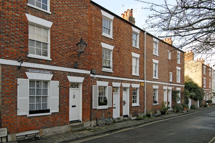 ★Georgian Townhouse right in Oxford City Center★