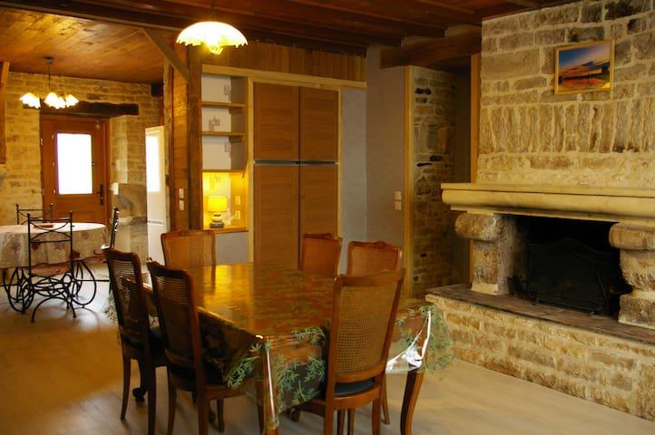Gîte au chalet maison d hote - Laferté-sur-Aube - Gästhus