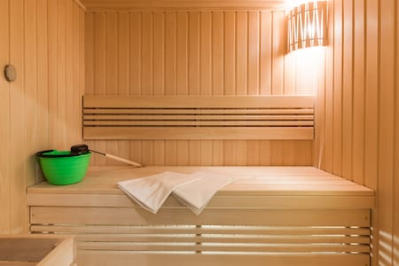 GreenApp with sauna