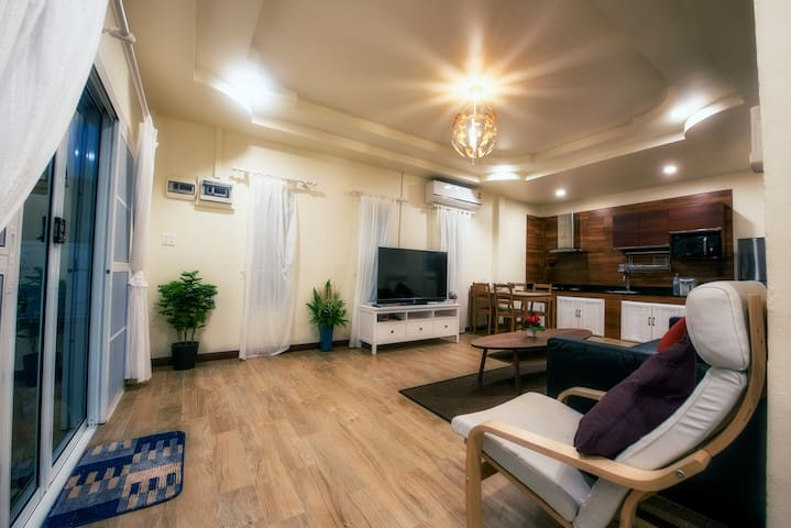 Modern Great Room with space for everyone