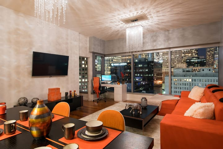 URBAN DOWNTOWN LA DESIGNER CITY SKY SUITE + 3 BEDS