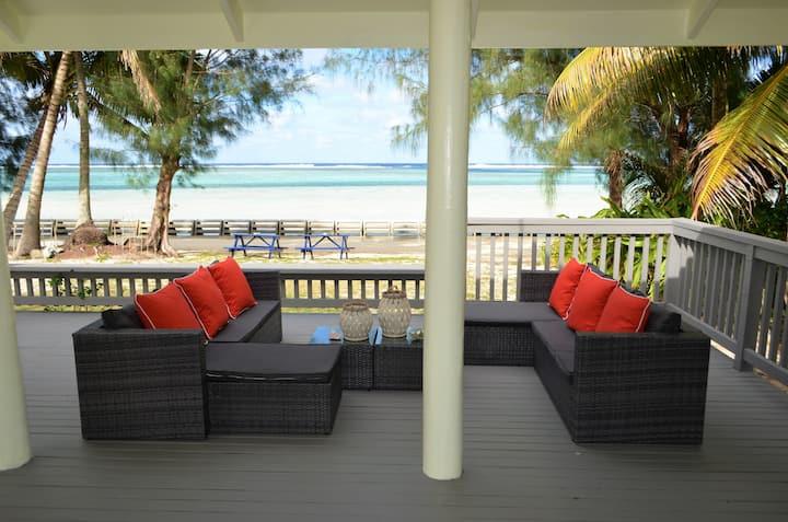 Maurua Beach House on Turtle Sanctuary