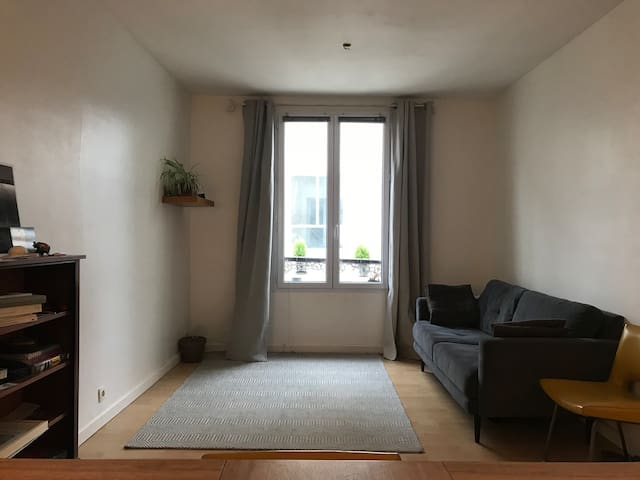 Cozy and quiet 35m2 Bastille apartment