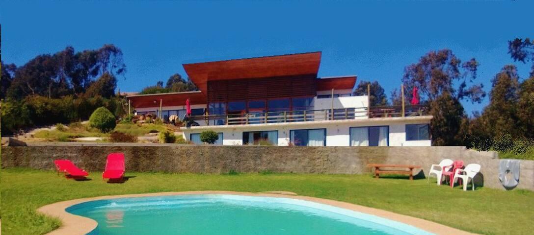 CASA RITOQUE /a 20min de Reñaca/Viña del Mar