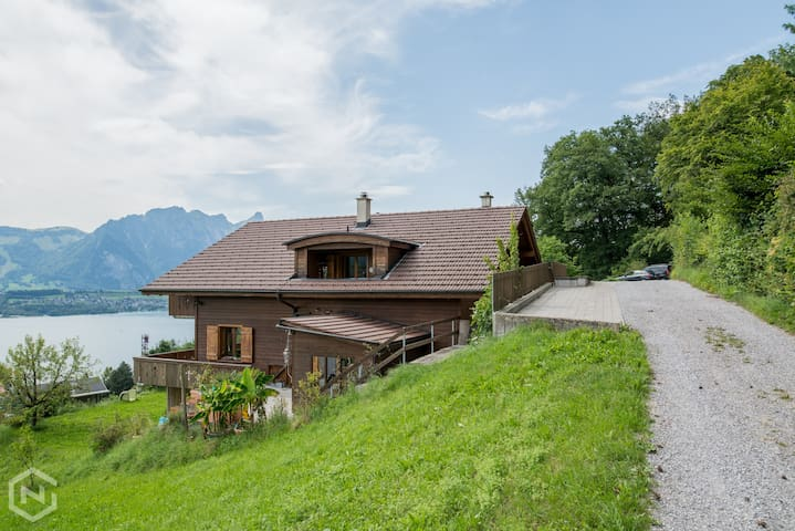 Beautiful Swiss home with amazing views!