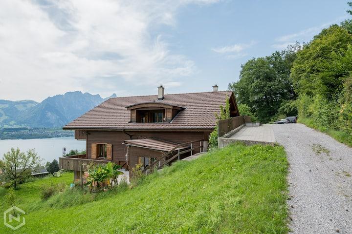 Beautiful Swiss home with amazing views!
