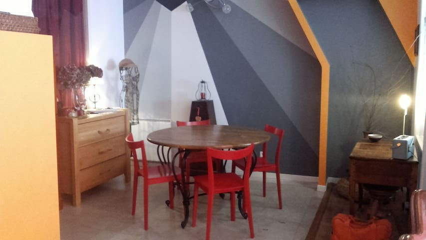 charmant petit appartement - Nuits-Saint-Georges - Apartment