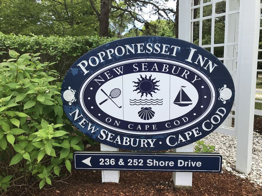 The Popponesset Inn is about 1.3 mile from property