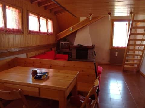 Studio v gorah, podoben kabini