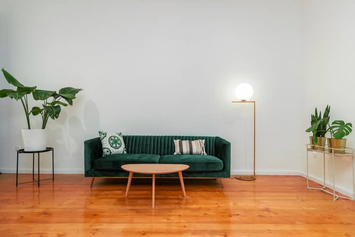 Design home with private garden