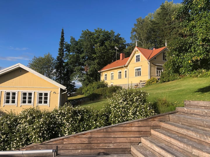 Beautiful old villa, unique, 35 min from Helsinki