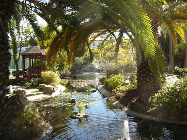 1BR & Private Bath in Lush Resort Setting