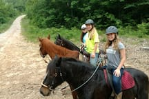 Heading out for a trail ride