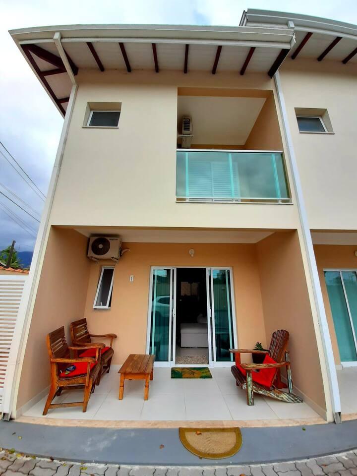 Casa para locação temporada na Praia de Massaguaçu