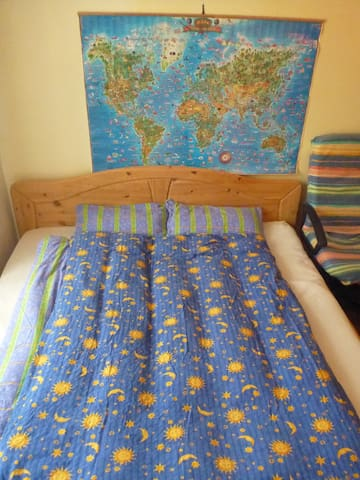 Double bed in nice room near Prague Castle - Praga - Appartamento